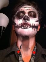 My dia de Los muertose or day of the dead makeup by wizard1013293