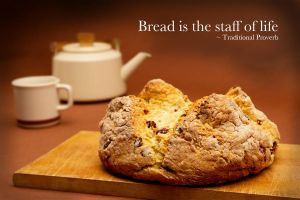 Irish soda bread by AmblingPhotographer