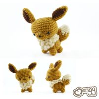Eevee Pokemon Amigurumi by mengymenagerie