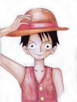 Monkey D Luffy by Meroty