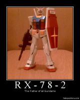 RX-78-2 Motivational by YumaLightning