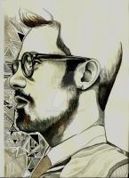 Geometric Profile by isiillustration