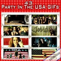 Miley Cyrus GIFs Party In The USA by Luiisa9612