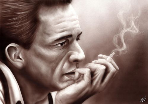 20160130 JohnnyCash by MixaArt