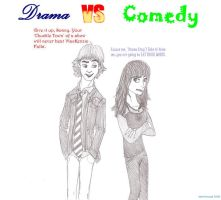 Drama vs Comedy - SwaC by lanilioness