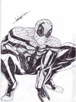 SUPERIOR SPIDER MAN AFTER TODD MCFARLANE by AbnerLanderosArt
