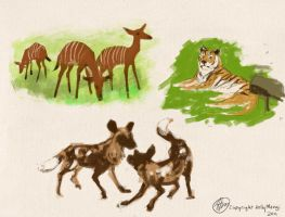 Some Mammals by Luthie13