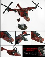 Da Thunda-Squig Gunship by Proiteus