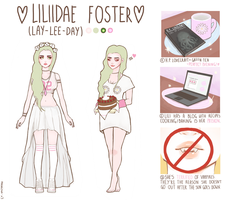 [OC] Liliidae Foster by Marzipan-x3