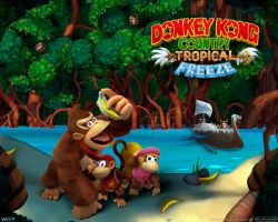 Donkey Kong Country Tropical Freeze - Box by AleNintendo
