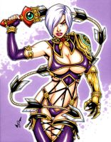 Ivy Valentine commission by gb2k