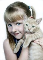 Her Kitten by TimelessImages