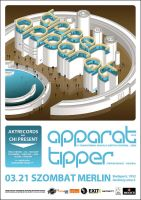 TIPPER APPARAT POSTER 09 by skeamworkshop
