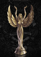 Game Award Statuette by LimonTea