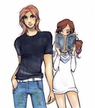 Belle and Adam by Nina-D-Lux