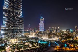 Downtown Dubai by vinayan