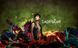 Lady light by pincel3d