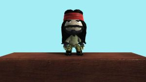 Lbp 2 costume:Axl by toamac
