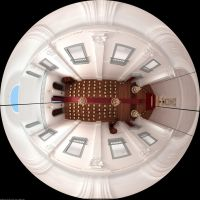3D chapel - fish eye by rafawbraga