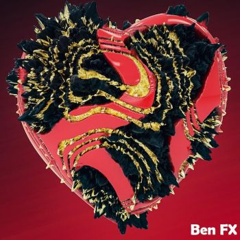 A Heart for Displacement by BenC4D