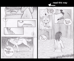 Abusing Okami for comic practise by queeniewolf