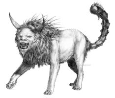 Manticore by Tabon