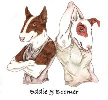 Eddie and Boomer by Ambrosia333
