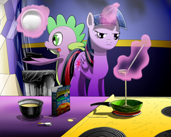 Twilight Makes Pancakes by Arby-Works