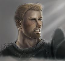 Alistair [Warmup in Colour] by XenFeather