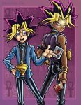 Yugi and Yami by lady-cybercat