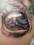 The eye by tattoomary