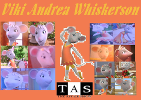 Viki Andrea Whiskerson Collage by Shafty817