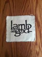 Lamb of God patch by dambird