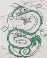 Haku the Awesome by thrairth