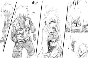 Kakashi and Anko Scene 1 by KickBass77
