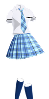 school uniform -re upload- by HikariNagashime