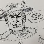 Inktober Jay Garrick Flash by sirandal
