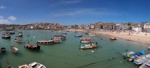 St Ives Cornwall Panorama by runique