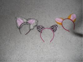 cat ears and tails part 2 by kamakane