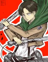 Levi Rivaille by hirokiart