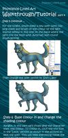 Photoshop Lined Tutorial/Walkthrough Part4 by Peace-Colby