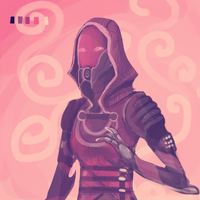Tali color palette challenge by lucelic