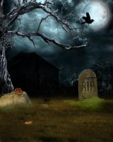 SPOOKY STOCK BG 2 by Moonglowlilly