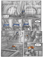 TMNT- One Small Turtle: Skateboarding Pg. 1 by Tenshilove