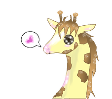 Free Giraffe Icon by LindsayRichardson