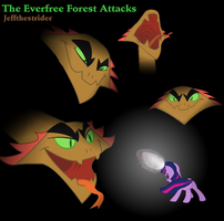 The Everfree Forest Attacks by Jeffthestrider