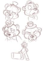 Freddy's Reference Sheet by TonyCrynight