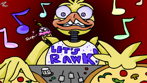 DJ Chica is in the Hizzouse by avidlebon