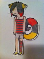Old Drawing of Shadylin by StitchedSmile1