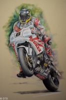 Guy Martin TT CP by BTBArtist